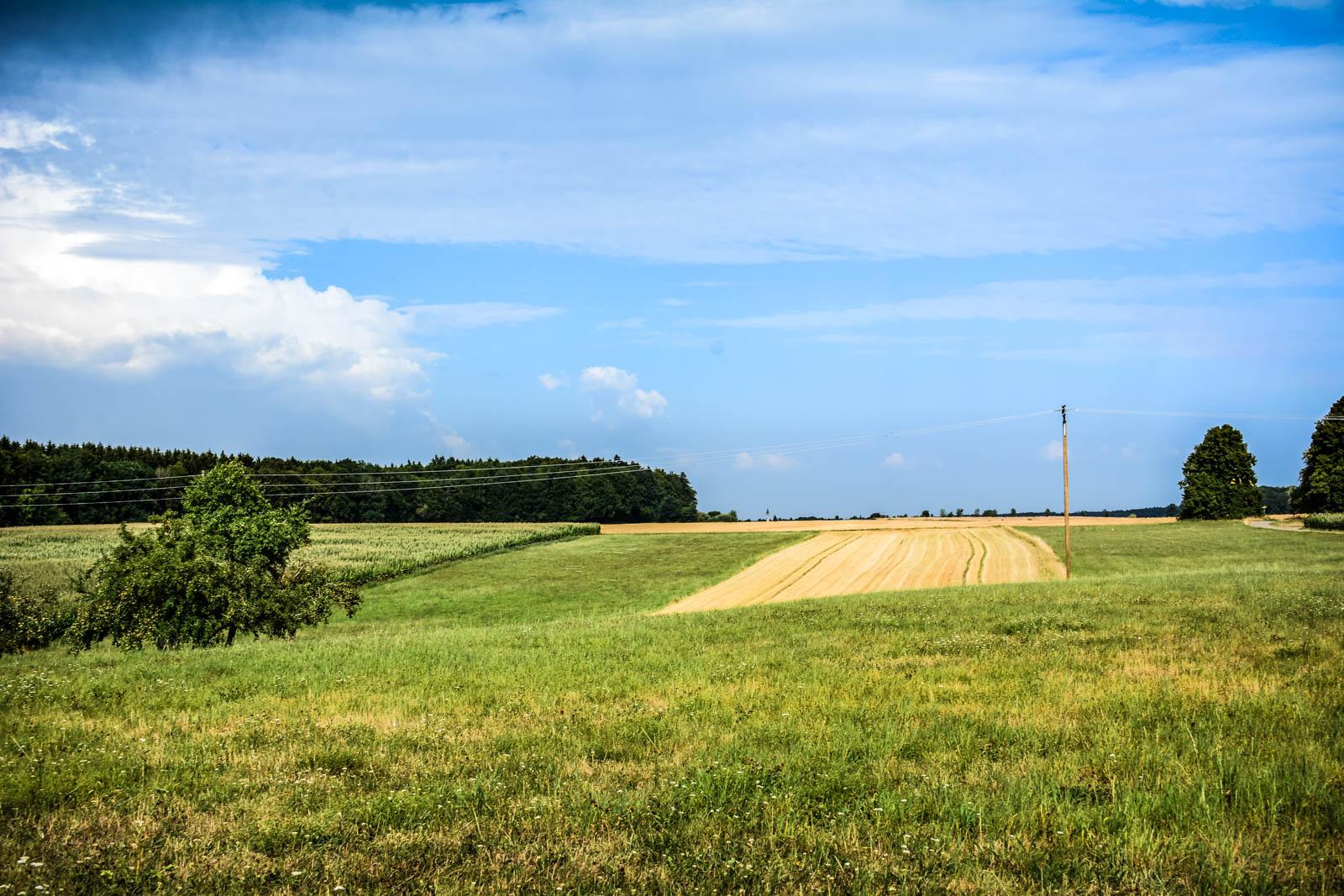 Die Landschaft In Unmittelbarer Umgebung