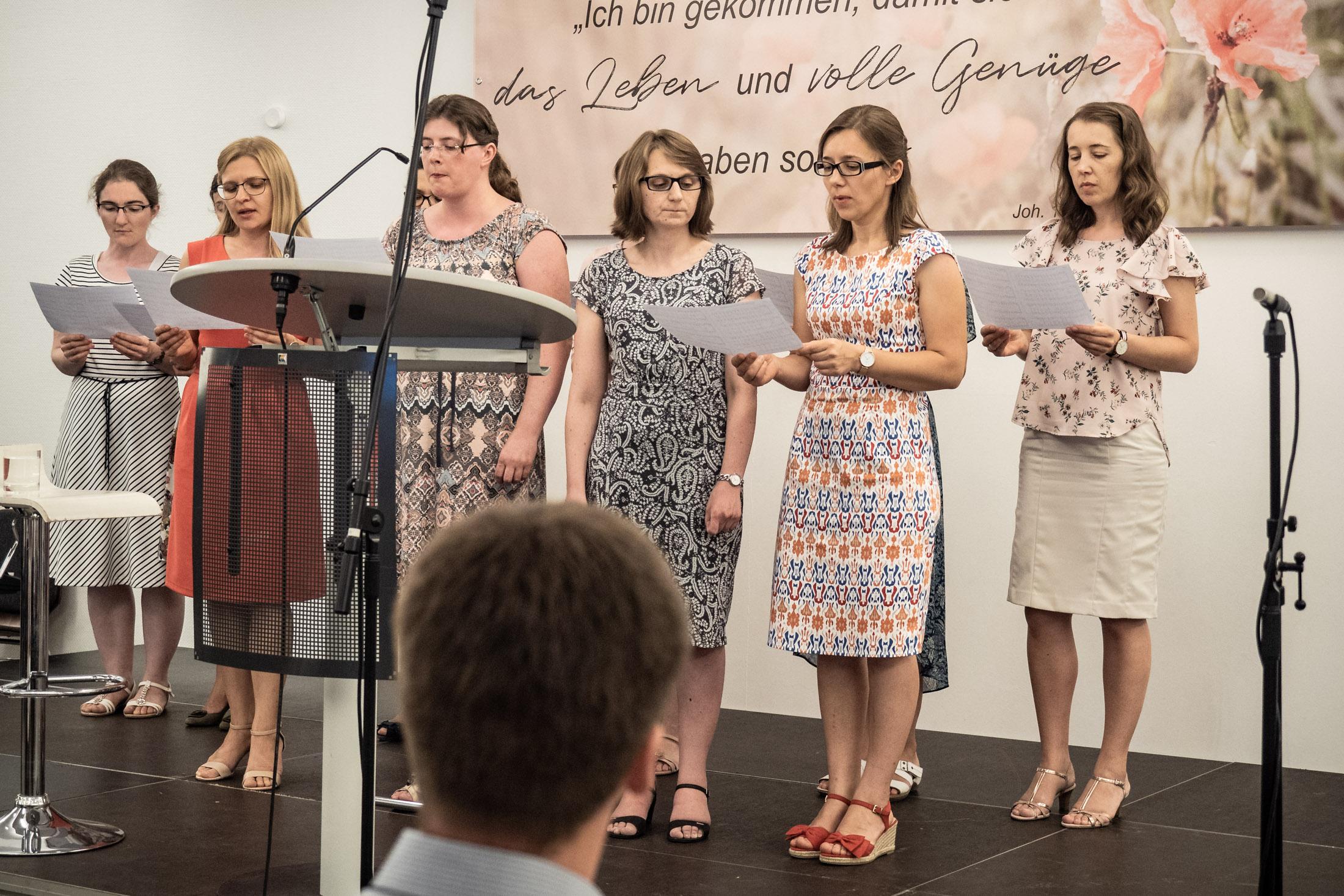 Frauenchorlied Von Schwestern Aus Eppingen