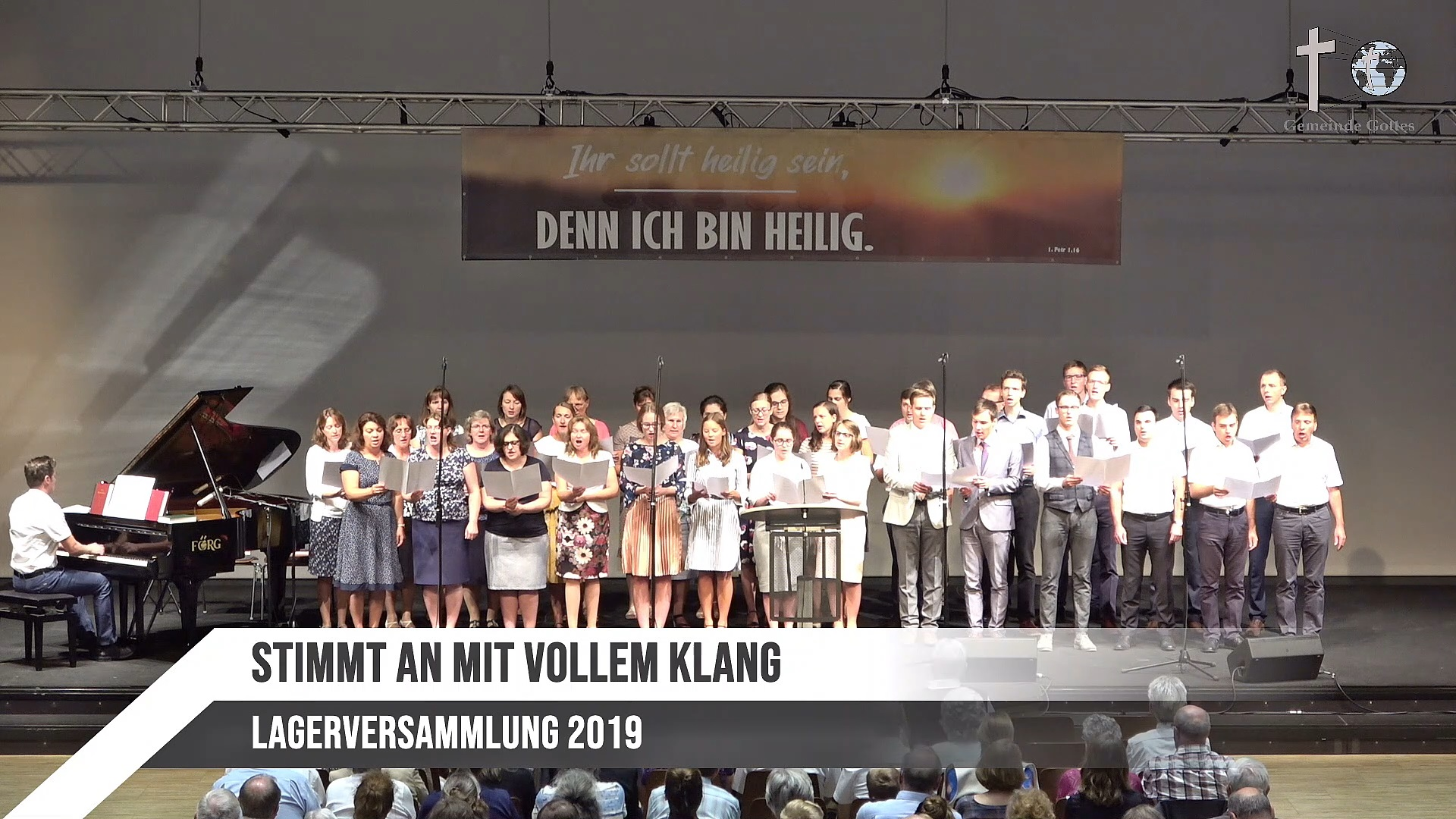 Chor – Stimmt An Mit Vollem Klang
