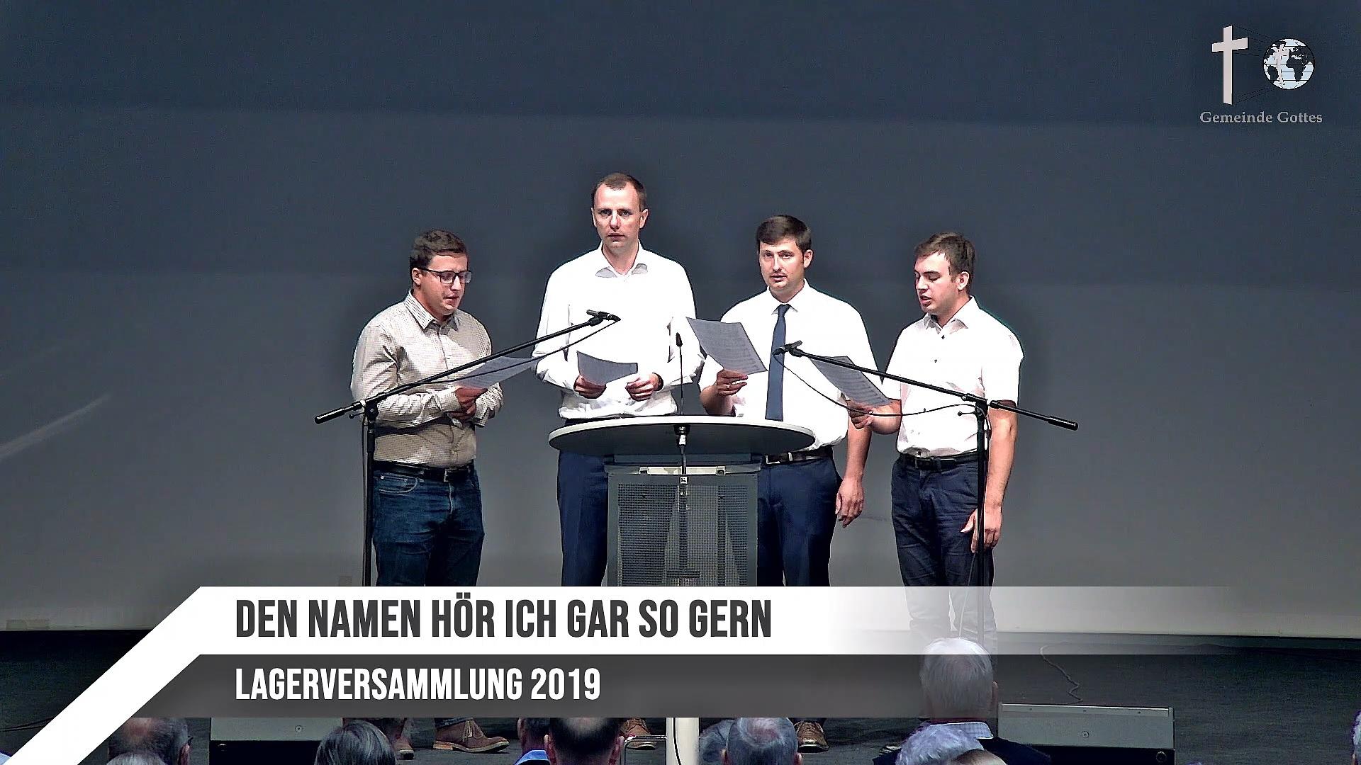 Quartett – Den Namen Hör' Ich Gar So Gern